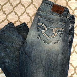 Big Star jeans. Crop length